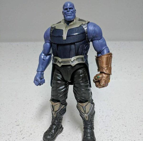 "#Marvel Legends 6"" Scale MCU Thanos Build-A-Figure First Look #Marvel"
