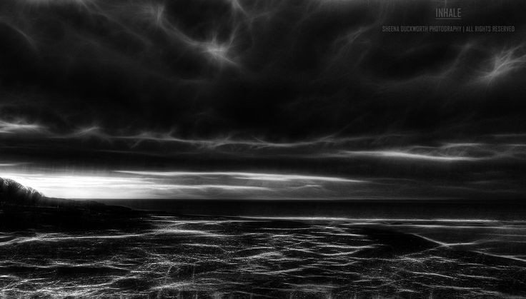 Scenery, Landscape, Water, Sea, Beach, Darkness and Light, Sky, Clouds, Mood, Moody, Atmosphere, Scenic, Dreamy, Sheena Duckworth Photography