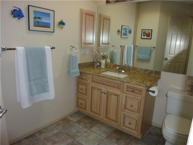 Granite countertops in all bathrooms  www.heatherdavis.ca