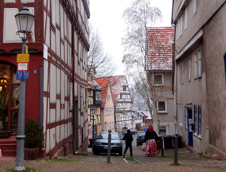 https://flic.kr/p/pmrEK4 | Altstadt Bad Wildungen | Spazierung, trotz Kälte, in der Altstadt Bad Wildungen.