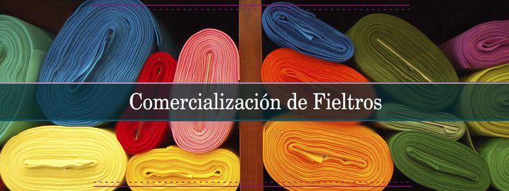 Fieltros de colores en Barcelona con La Casa del Feltre