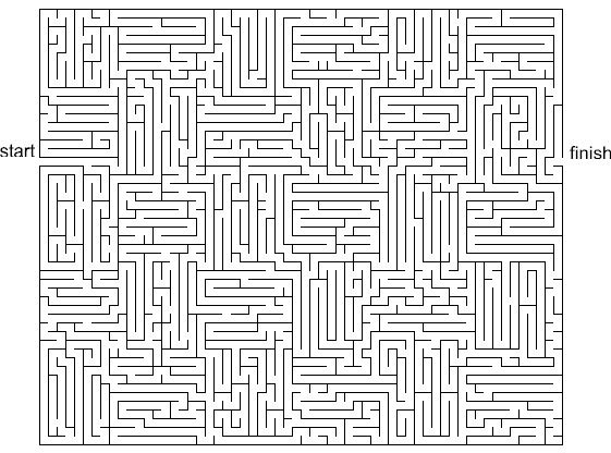 never ending maze Mazes for kids, Mazes for kids
