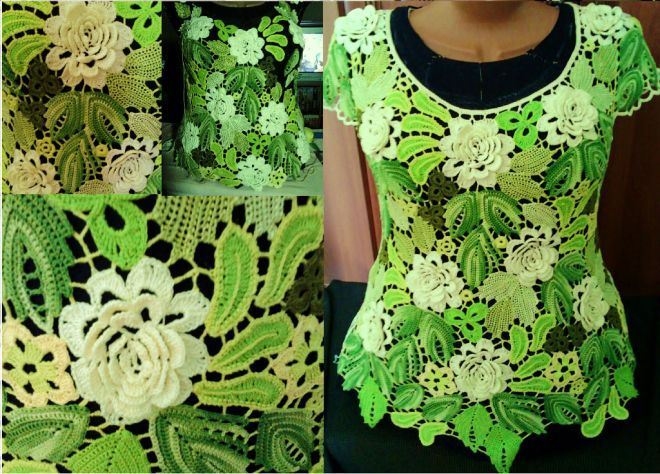 849 Best Irish Lace Motifs Joining Images On Pinterest Crochet