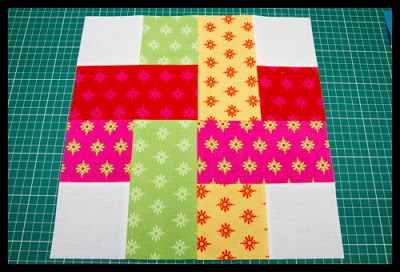 January 1st Week Sew Happy Quilt Blocks Done - The Littlest Thistle