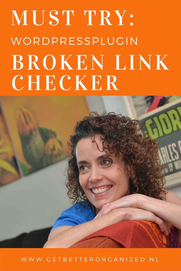Plugin Broken link Checher uitgelicht Ik ben altijd wel op zoek naar een goede plugin. Een plugin die mij helpt om de sites die ik ontwerp te ondersteunen. Daar is de plugin Broken Link Checker mijns inziens er één van! Het is een plugin die heel makkelijk en zonder poespas is in te stellen, en die