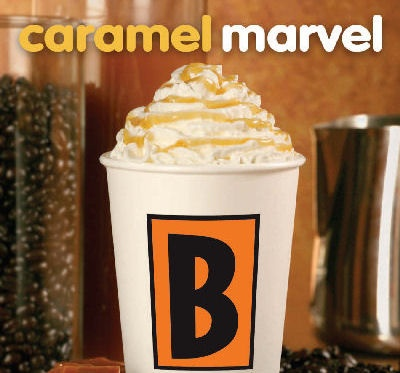 Hot Caramel Marvels at Biggby!  Add some white chocolate to this and you will have a Teddy Bear!  My Favorite!