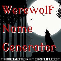 The Werewolf Name Generator: Your Werewolf Name