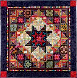 Amish with a Twist II block of the month