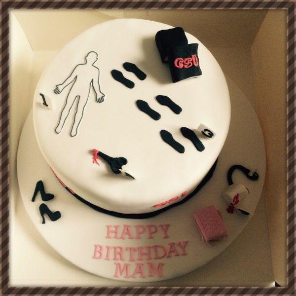 Csi birthday cake