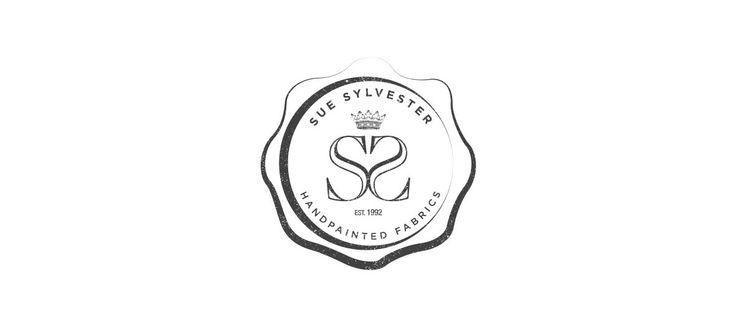 Sue Sylvester - Hand painted Fabrics: Logo Design and Branding by Electrik Design Agency www.electrik.co.za/