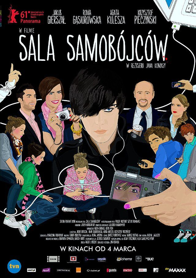 @SuicideRoom. such a good movie. seriously. You have to read subtitles if you don't speak Polish, but so worth it. It's in Netflix.