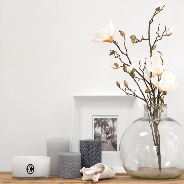 Kaarsen en bloemen | piet klerkx