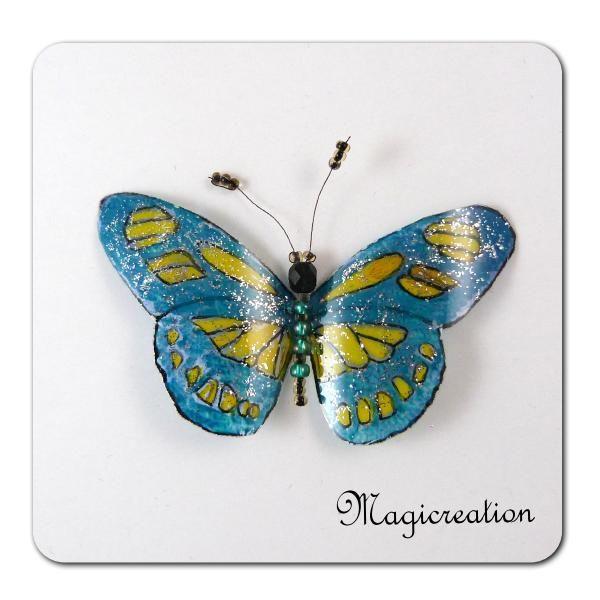 MAGNET PAPILLON NEPTUNE - Boutique www.magicreation.fr