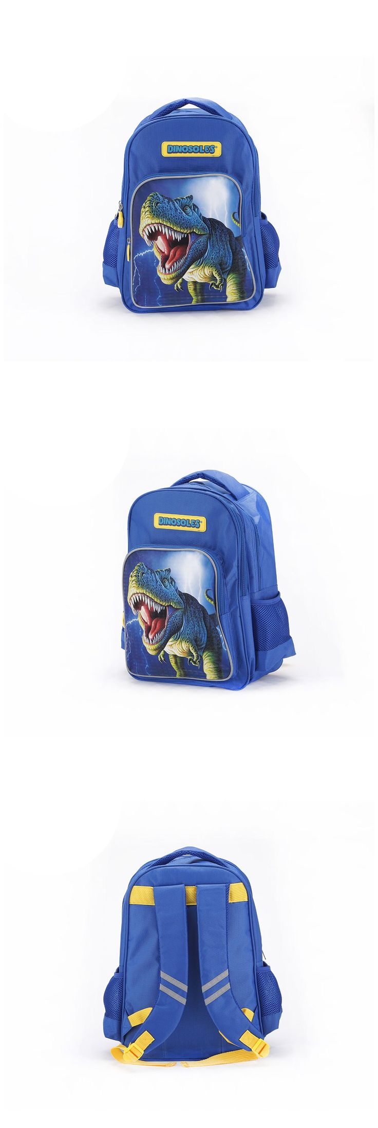 Active recommendation for boys. Dinosoles boys school bag with charismatic and great dinosaur themed. come on~ #Dinosoles #DinosaurBackpack #BoyBackpack #BoyBag