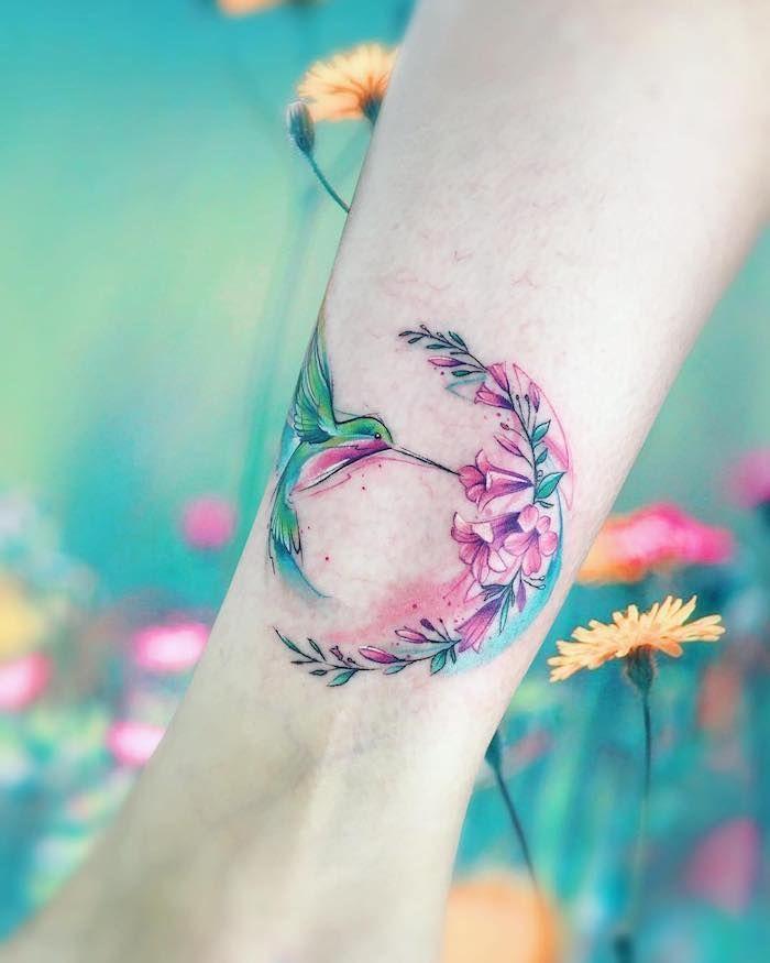 ▷ 1001 + Ideen für Tattoo am Fuß, am Knöchel oder an der Wade – Sophie Hoffmann – #Der #für #Fuß #Hoffmann #Ideen