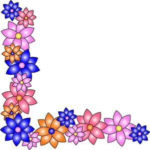 18 best Borders images on Pinterest Drawings Flower borders and