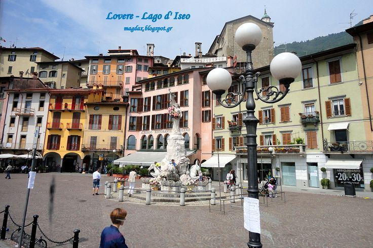 From Lago d' Iseo to BERGAMO - ITALIA