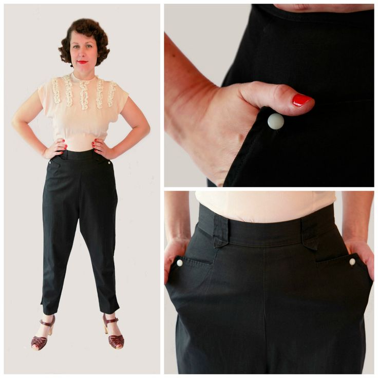 Rare 1950s Vintage H-Bar Ranch wear Cowgirl Trousers by by fridalarsensvintage on Etsy