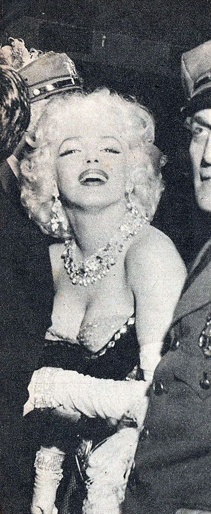 Marilyn Monroe at the Ringling Brothers Circus Charity Gala at Madison Square Garden, March 30th 1955.