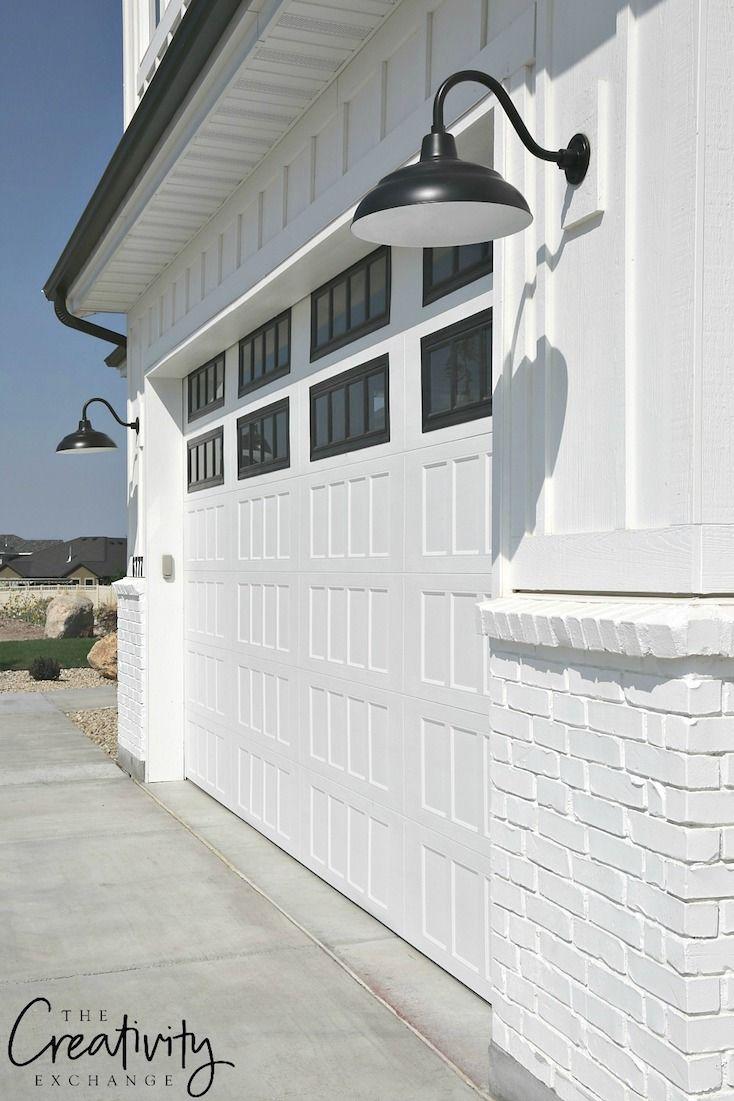 Modern Garage Door Designs Modern Farmhouse Exterior Brick Exterior House Exterior Brick