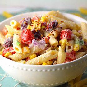 Aan Jeanne`s Keukentafel: Pasta Salade
