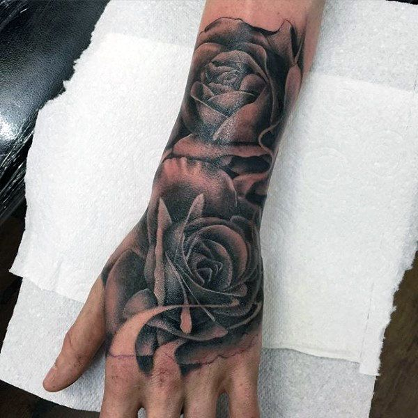 50 Flower Tattoos For Men – A Bloom Of Manly Design Ideas
