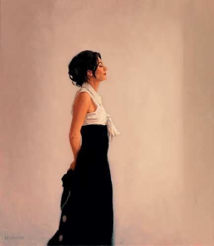 Jack Vettriano  Tuesday's Child  Oil on canvas  30 x 24 inches