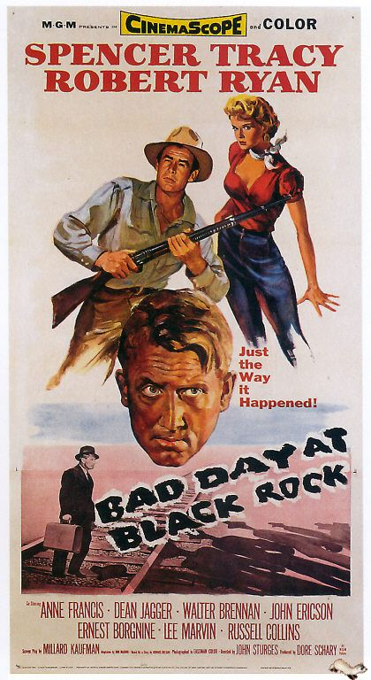 """""""Bad Day at Black Rock / Conspiración de silencio"""" (1955) John Sturges, USA."""