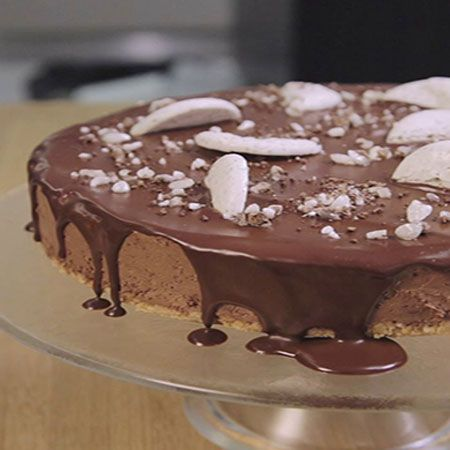 Vegaaninen Marianne-suklaakakku - Fazer