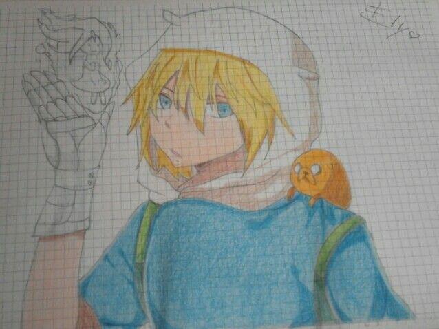 Drawing of Elisa.D -Adventure time -