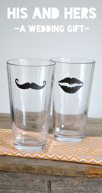His And Hers Wedding Gift Ideas: Wedding Present Idea–His & Hers Glasses