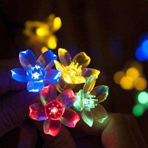 MAXAH® Guirlandes lumineuses, Lampe de décoration,lampe solaire,lampe des fêtes,une bonne décoration pour des fêtes,comme la Toussaint,Jour…
