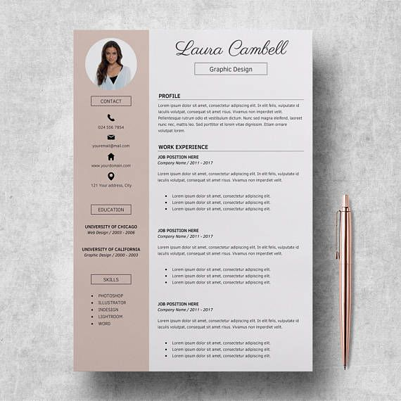 The 25+ best Cv template ideas on Pinterest Creative cv template - it cv template