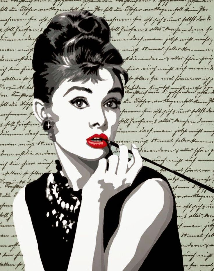 Женщины постеры черно белые