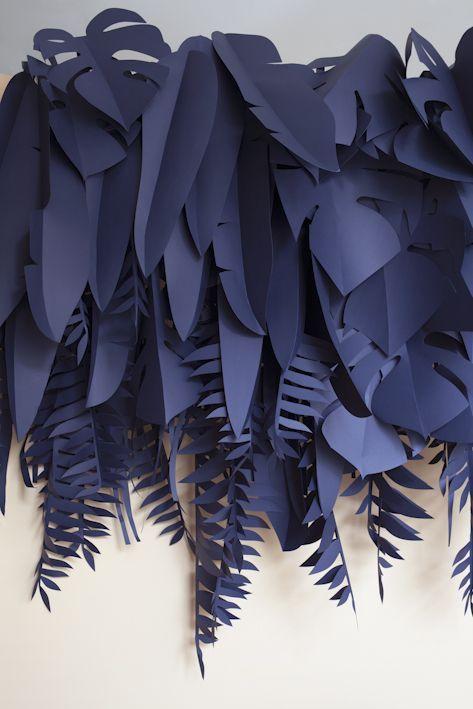 Cortinas de papel para bodas originales fotografiada por Silvia Rivoltella. ¿Ya te está dando ideas?