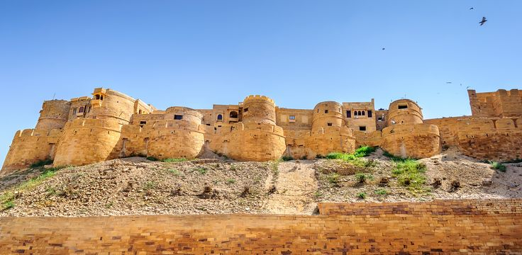Panoramic view of Golden Fort of Jaisalmer, Rajasthan India by Srijan Roy Choudhury on 500px