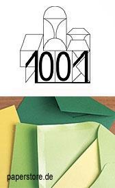 Artoz 1001 – ein hochwertiges, märchenhafte schönes Papier, Markenzeichen sind das echte, nicht abgepasste Wasserzeichen sowie die Egoutteur-Rippung. Artoz 1001 enthält als einziges Papier dieser Art mindestens einen Anteil von 15% an Hadern (Baumwolle). PH-neutral (für Scrapbooking geeignet) und ligninfrei. Der Karton ist auf der Vorder- und Rückseite gerippt.