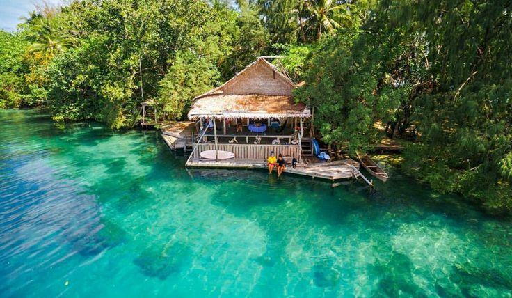 Oravae Cottage in the Solomon Islands @oravaecottage