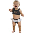Minnesota Wild Hockey Baby Bikini