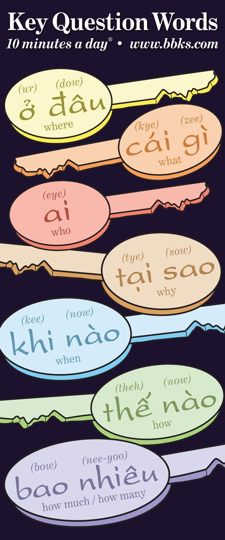 Learn Key Question Words in Vietnamese!