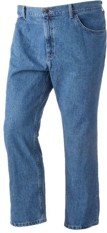 Big & Tall Lee Basic Jeans
