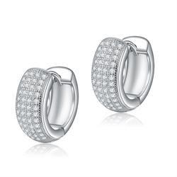 Austrian crystal zircon earrings