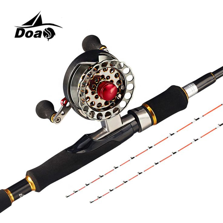 DOAO Boat/Raft Fishing Rod Combo Ice Fishing 105-150CM three sections double Pole Slightly High Carbon Telescopic Fishing Rod olta marlin ** AliExpress Affiliate's buyable pin. Locate the offer on www.aliexpress.com simply by clicking the VISIT button