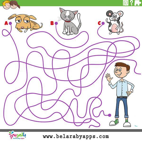 العاب متاهات للاطفال الاذكياء ألعاب ورقية جاهزة للطباعة بالعربي نتعلم Kids Vector Turtle Drawing Cartoon Owl Drawing