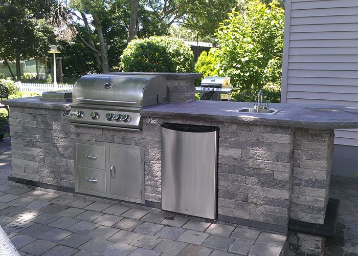 Expand Your Living Space Outside By Installing An Outdoor Kitchen Or Bar  Area For Entertaining Outdoors! Home Design Ideas