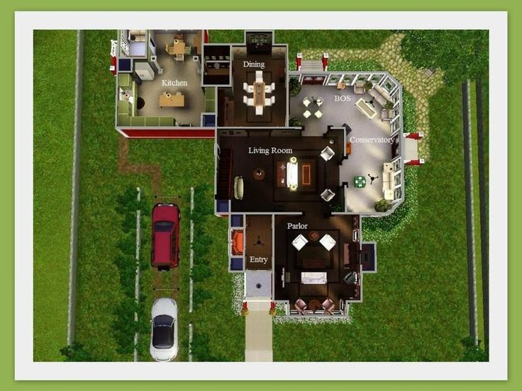 halliwell manor | floor plans | pinterest | sims, tvs and house