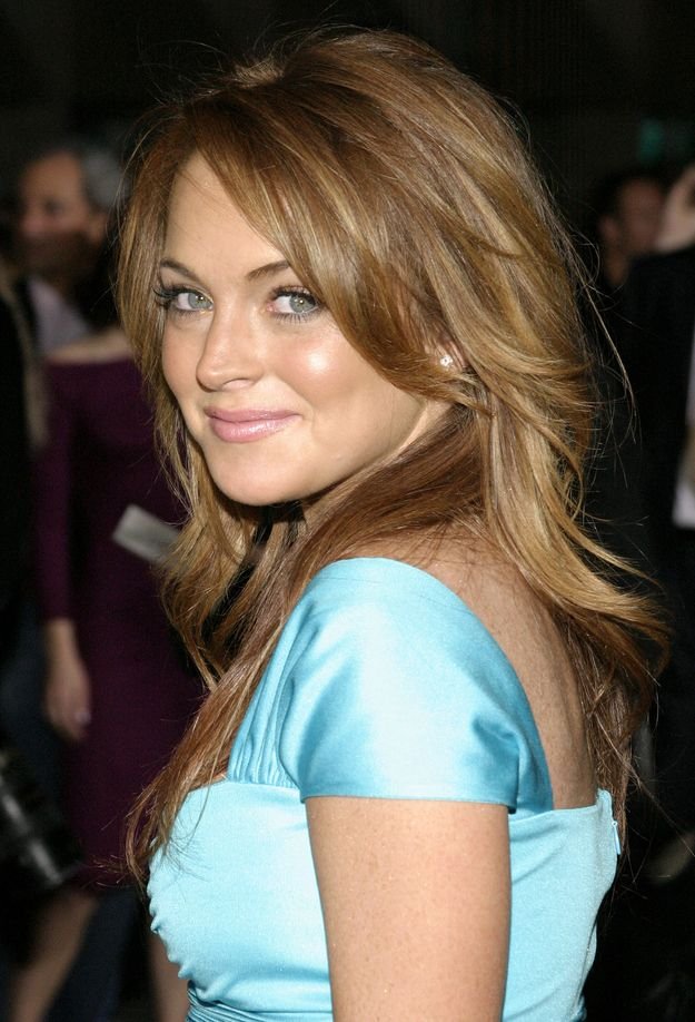 "Lindsey Lohan from the ""Mean Girls"" Premiere"
