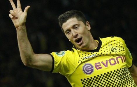 Lewandowski Celebration