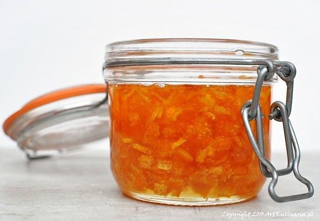 Skórka pomarańczowa - smażona w cukrze (syropie) | ArtKulinaria