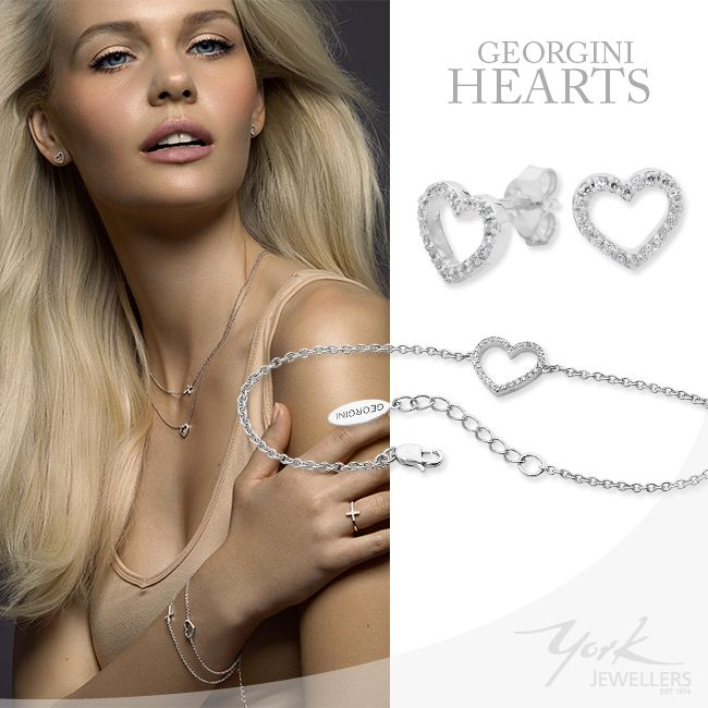 Stirling silver hearts for your love. www.yorkjewellers.com.au
